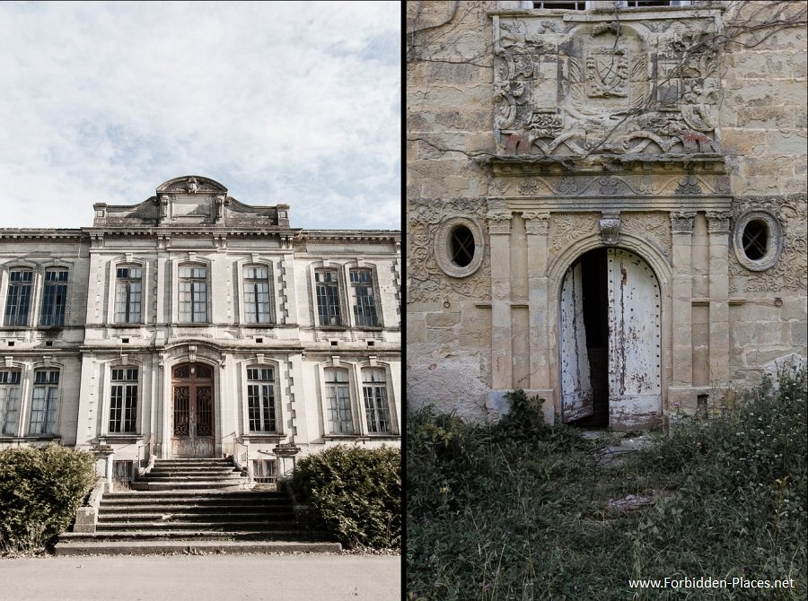 Abandoned Castles from South West of France - (c) Forbidden Places - Sylvain Margaine - 6- Facades.